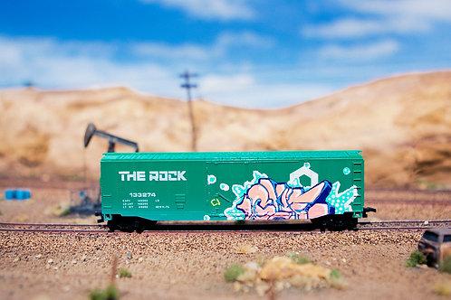Glue 50' Route Rock Boxcar Ho Scale