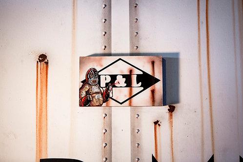 Soak P&L Sign