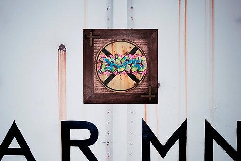 Erupto RXR Sign Wall Plaque