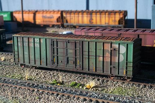 Burlington Northern Boxcar Ho Scale