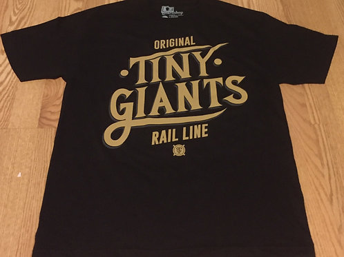 "Tiny Giants ""Squad"" T-Shirt -Black"