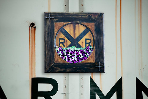 Helm RXR Wall Plaquard