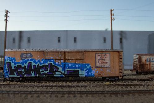 Hamer 60' Union Pacific HO Scale Boxcar