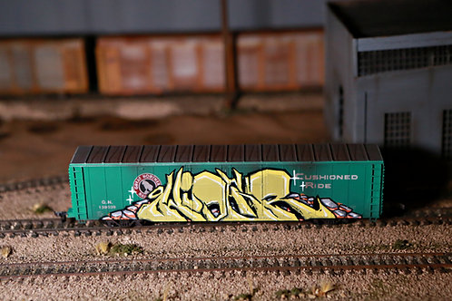 Hider Great Northern 60' Boxcar HO Scale