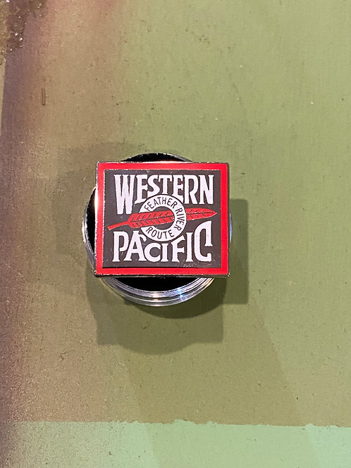 Western Pacific Feather River Pin