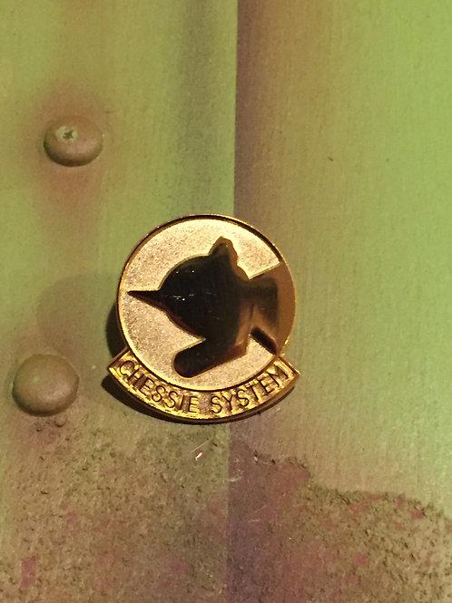 Chessie Systems Gold Original Logo Pin