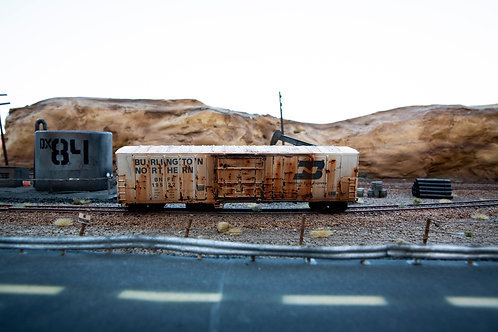 Burlington Northern 50' Boxcar Ho Scale