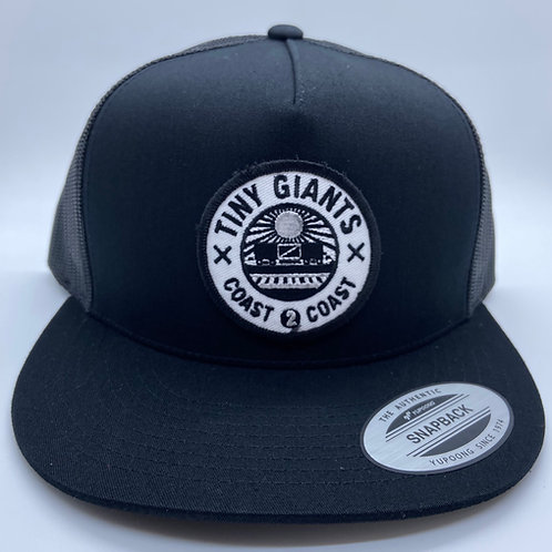Tiny Giants Seal 5 Panel Meshback Snapback Hat