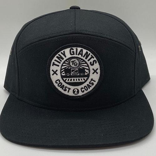 Tiny Giants Strapback Hat -Black