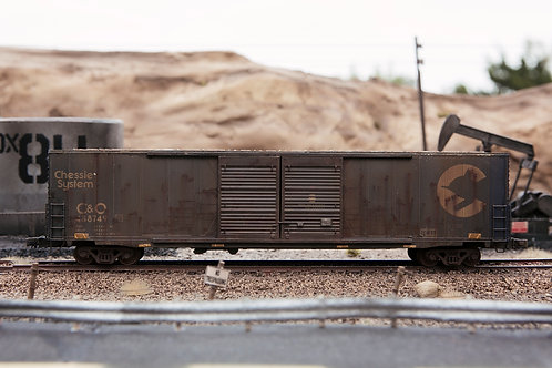 Chessie 60' Boxcar Ho Scale