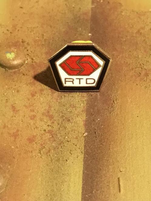 RTD Original Logo Pin