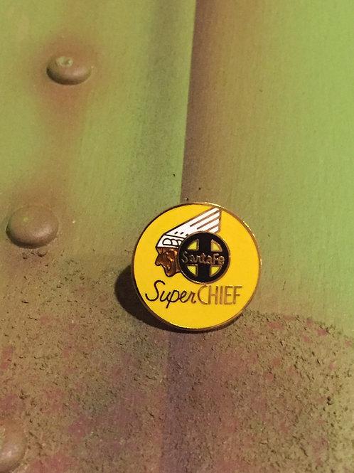 Santa Fe Super Chief Original Logo Pin