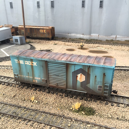 Route Rock  40' Boxcar