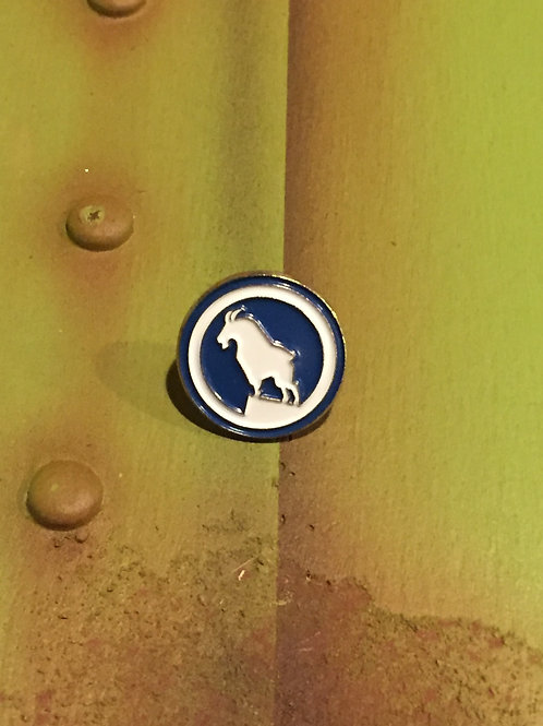 Great Northern Rocky Original Logo Pin