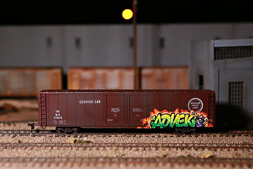 Advek MoPac 60' Boxcar HO Scale
