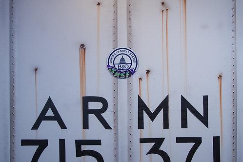Jasf B&O Railroad Sign