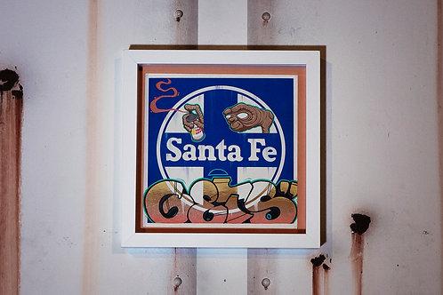 Bozo Gets Santa Fe Place Card Set