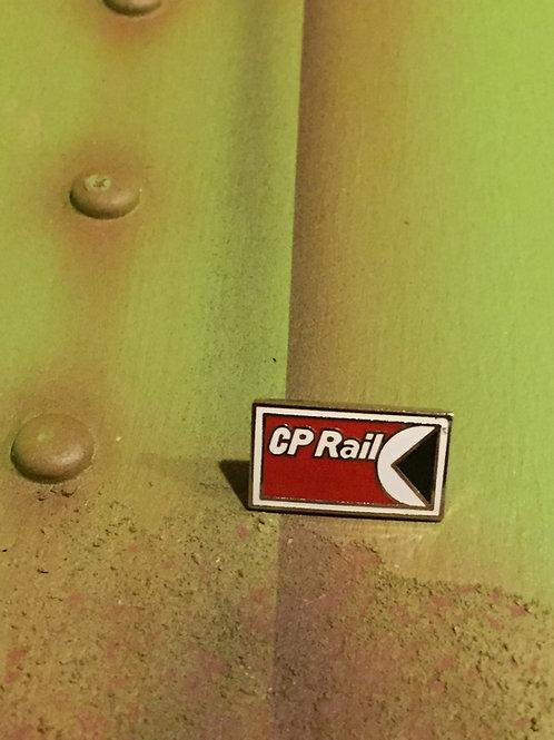 CP Rail Original Logo Pin