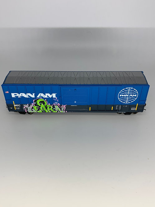 Learn Pan Am 50' Boxcar HO Scale
