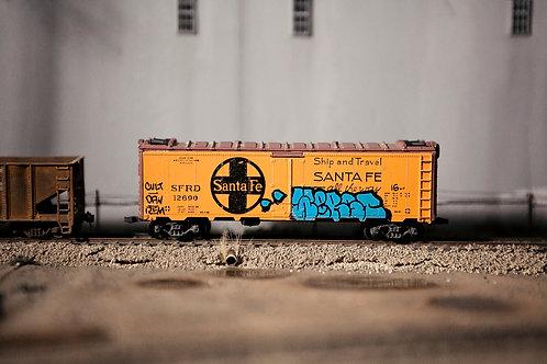 Werst 40' Santa Fe Boxcar Ho Scale