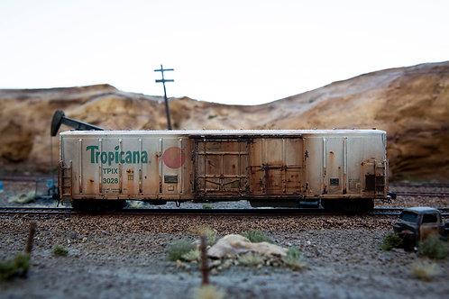 Tropicana 58' Reefer Ho Scale