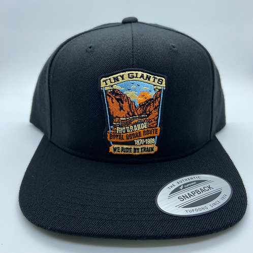 Tiny Giants/WRBT Rio Grande 6 Panel Snapback Hat Black