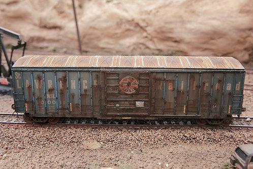 Lawerence RR 50' Boxcar Ho Scale