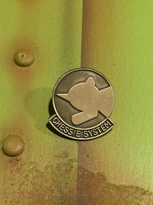 Chessie Systems Logo Nickel Pin