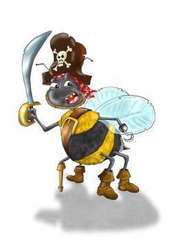 Pirate Bee Martin Peers 2020