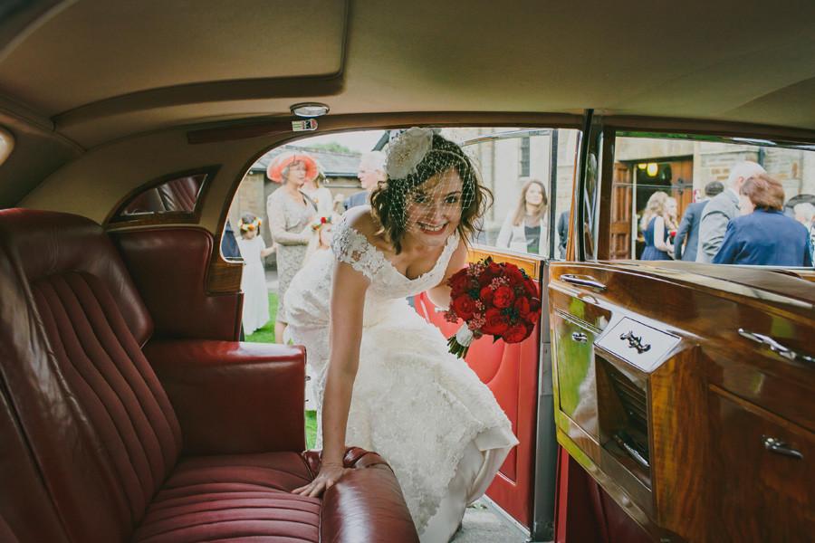 Chic bridal bouquet