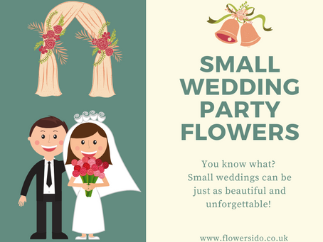 Small Wedding Party Flowers