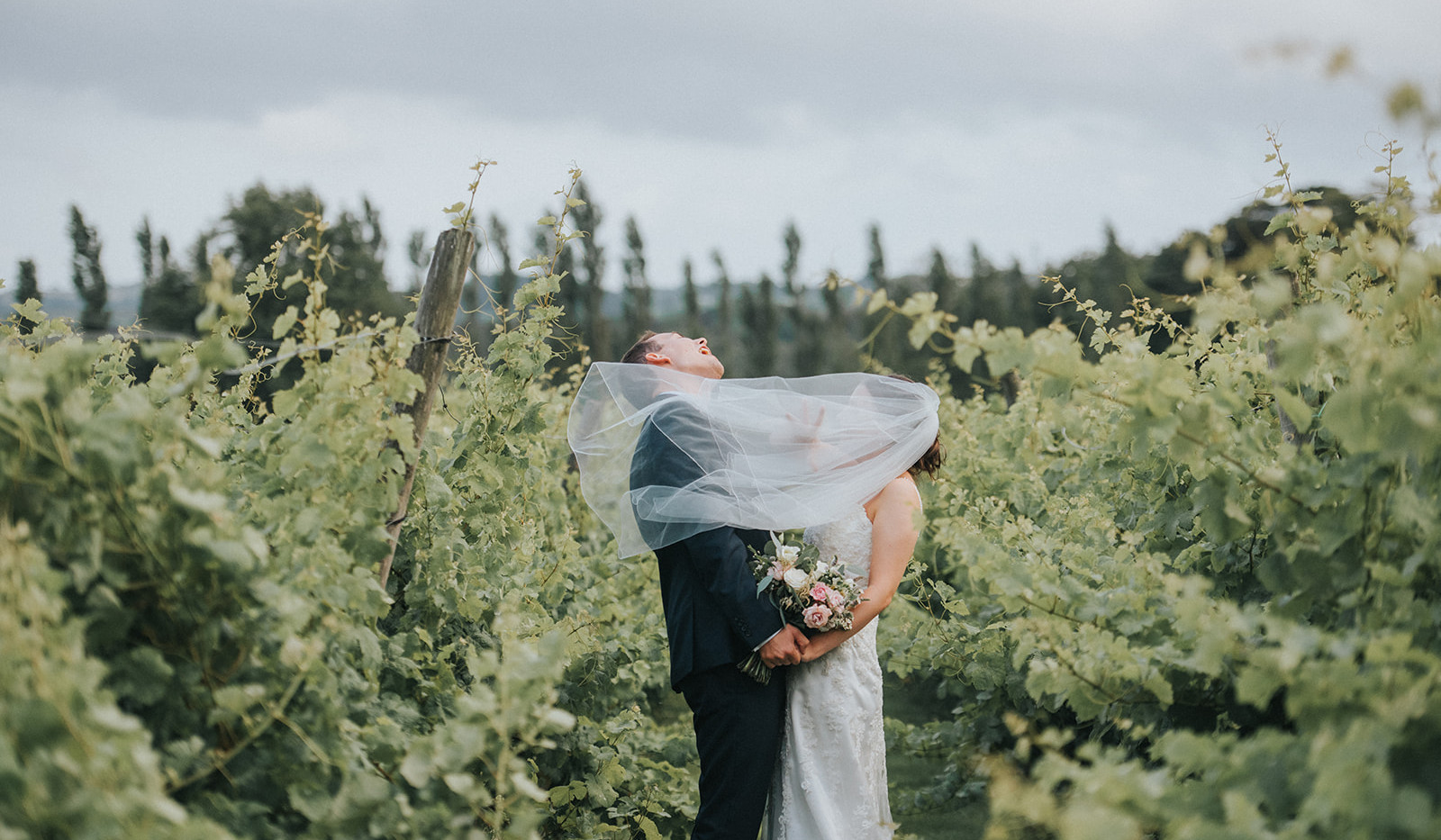 Wedding at Llanerch Vineyard