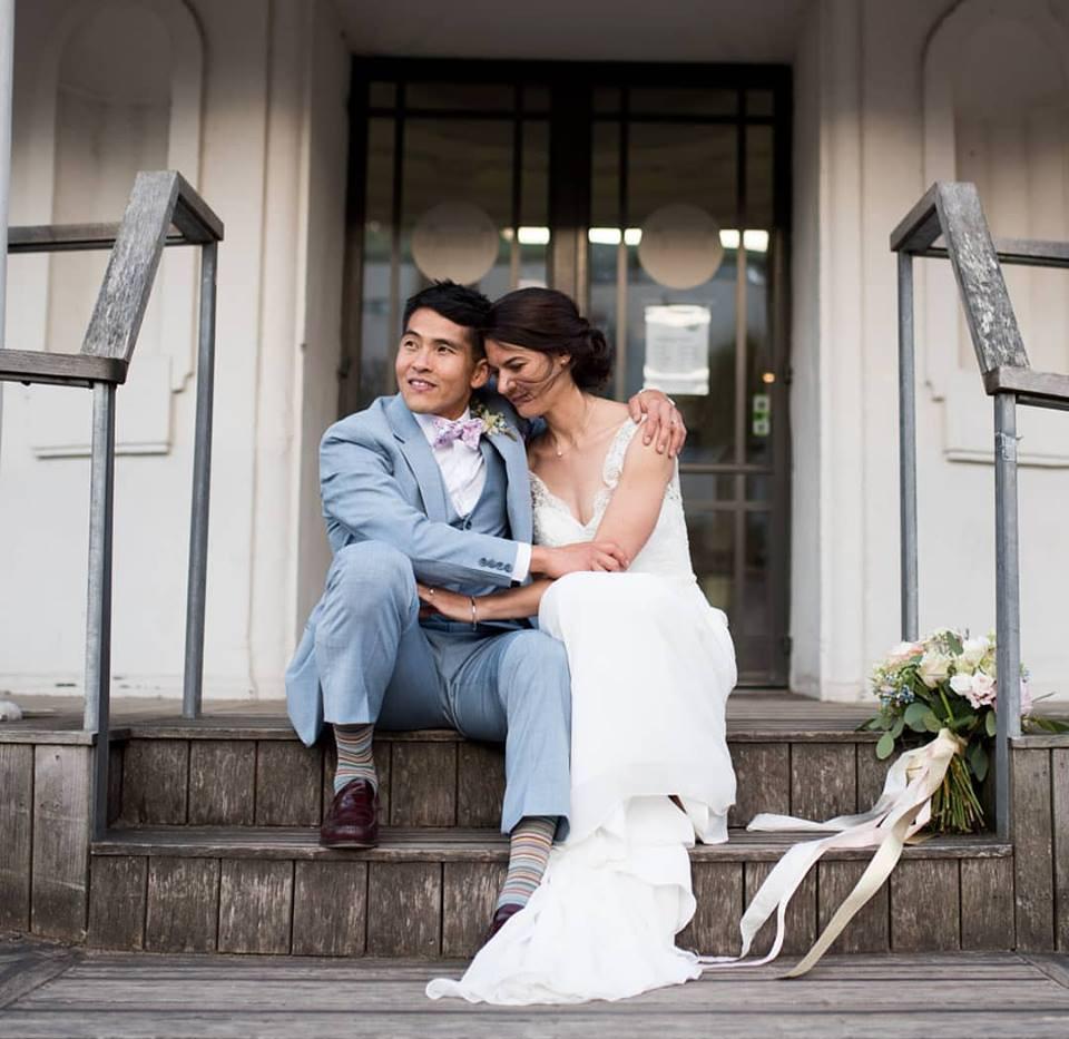Wedding in Penarth Pier