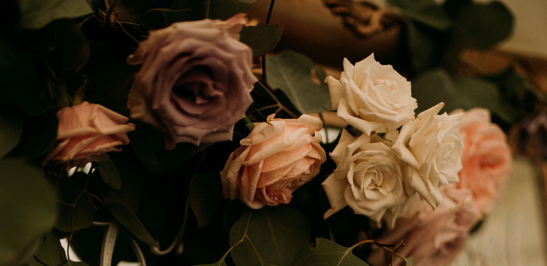 Eucalyptus wedding decoration