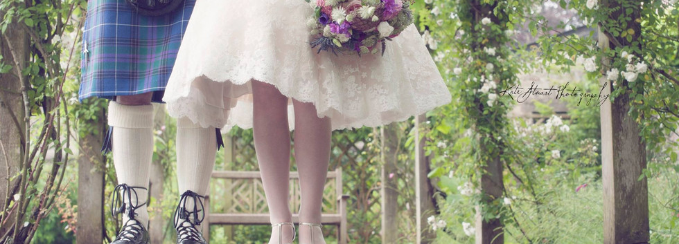 Vinatge wedding bouquet
