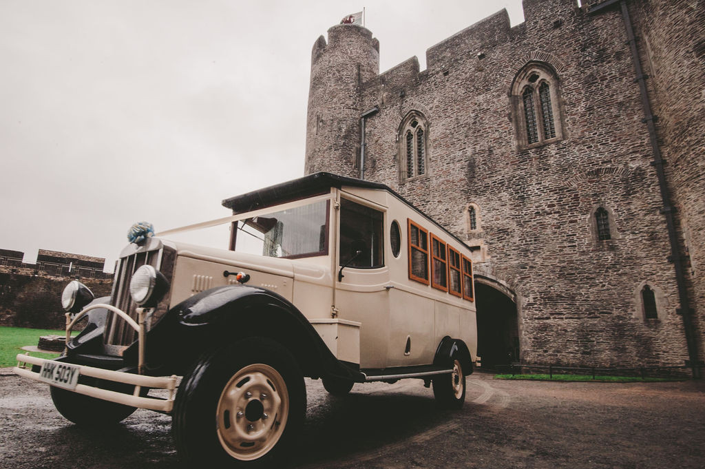 Caerphilly Castle Wedding