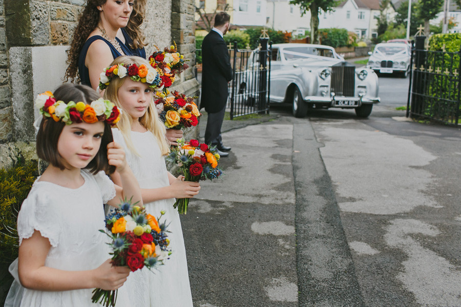 Flower girls and flower crowns