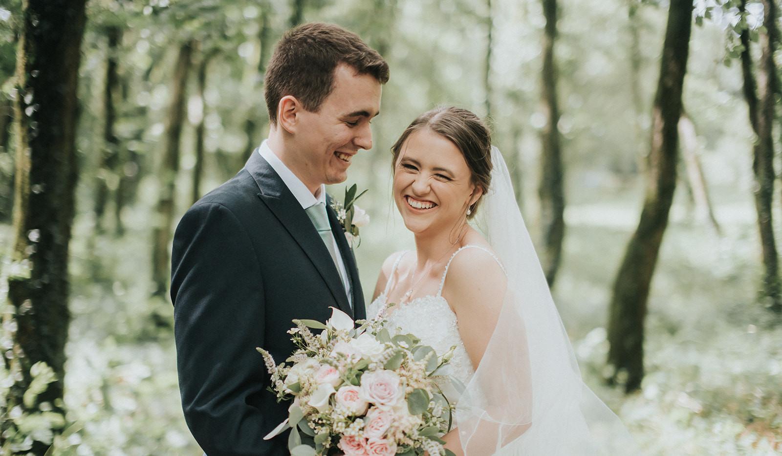 Woodland style wedding