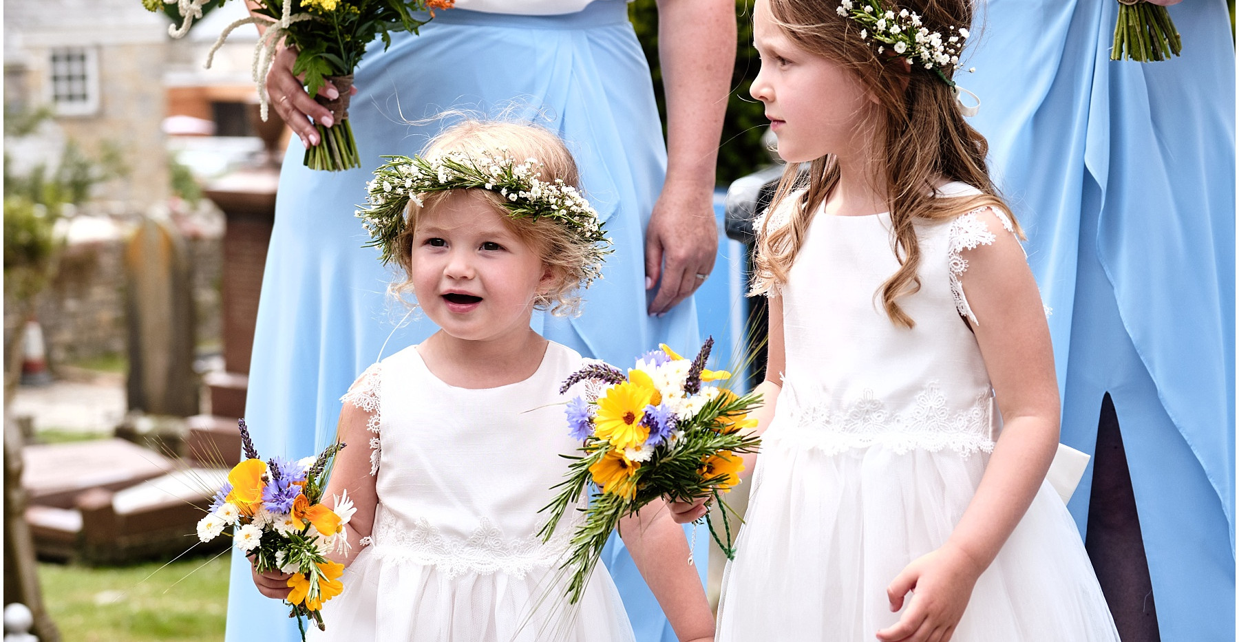 Gypsophila flower crowns