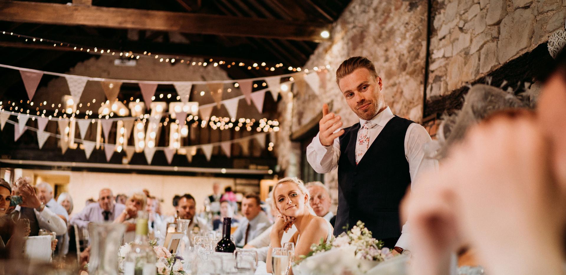 Wedding speech Pencoed House