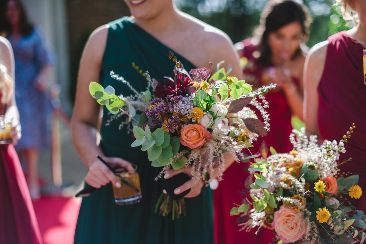 Rustic boho bouquets