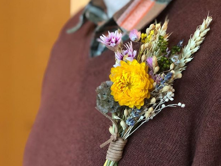 Dried flowers are on trend now!