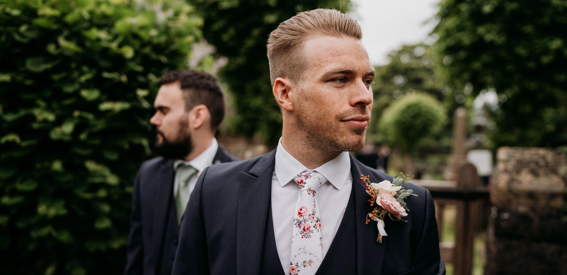 Groomsmen buttonhole