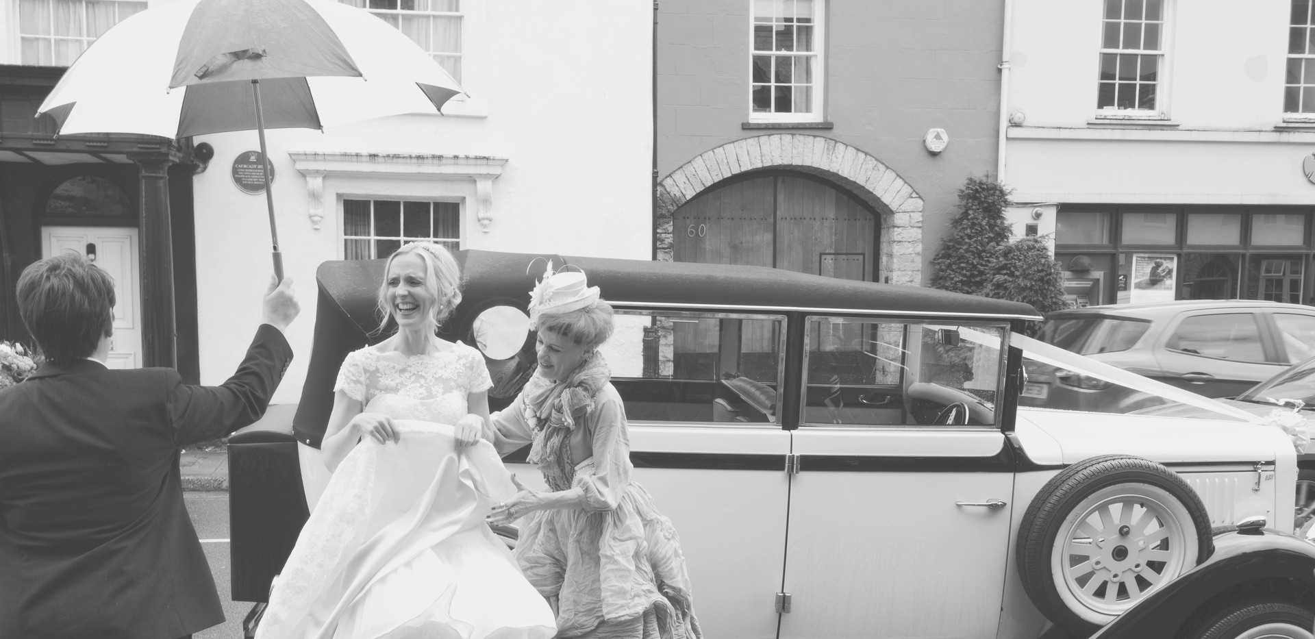 Arrival of the bride