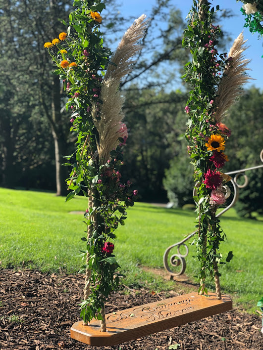 Swings flowers