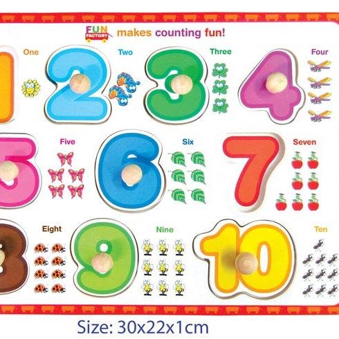 Number 1-10 Puzzle