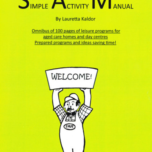 SAM:  Simple Activity Manual
