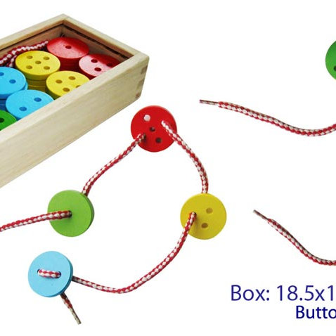 Lacing Buttons - 40 pieces