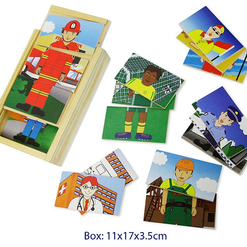 Occupational Dress Up Puzzle