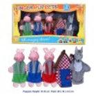 5 Piece Finger Puppet - 3 Little Pigs